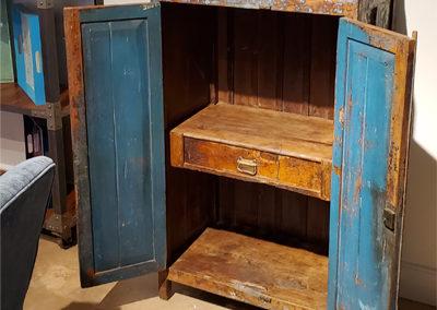 Short Cabinet Open