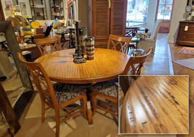 Saloom Pedestal Dining Table